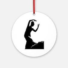 Flamenco dancer - bailaora Round Ornament