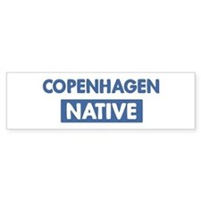 COPENHAGEN native Bumper Bumper Sticker