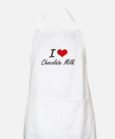 I love Chocolate Milk Apron