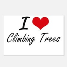I love Climbing Trees Postcards (Package of 8)