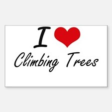 I love Climbing Trees Decal