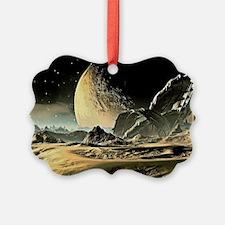 Alien Spaceship Ornament