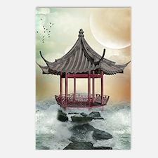 Oriental Gazebo Postcards (Package of 8)