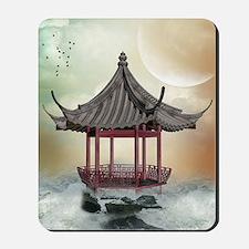 Oriental Gazebo Mousepad