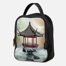 Oriental Gazebo Neoprene Lunch Bag