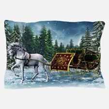 Christmas Sleigh Pillow Case