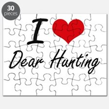 I love Dear Hunting Puzzle