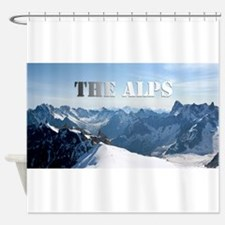 The Alps - Pro Photo Shower Curtain