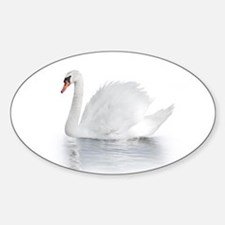 White Swan Decal