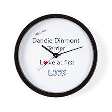 Dandie Lick Wall Clock