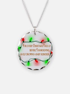 Elfing Christmas Necklace