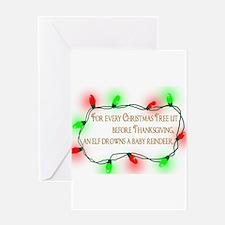 Elfing Christmas Greeting Cards
