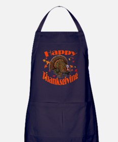 happy tg.png Apron (dark)