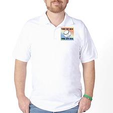 Personalized Softball Golf Shirt