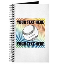 Personalized Softball Journal