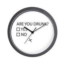 Are You Drunk? Wall Clock