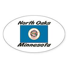 North Oaks Minnesota Oval Decal