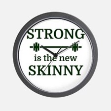 STRONG is the new SKINNY Wall Clock