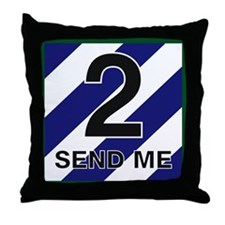 3id - 2nd Brigade Throw Pillow