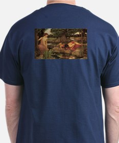 Echo and Narcissus by Waterhouse T-Shirt