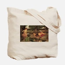 Echo and Narcissus by Waterhouse Tote Bag
