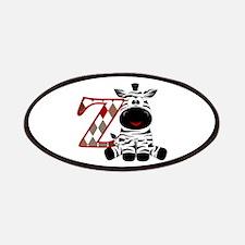 Z Is For Zebra Patch