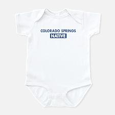 COLORADO SPRINGS native Infant Bodysuit