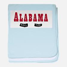 Alabama Crimson Tide baby blanket