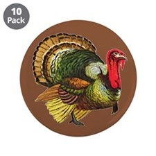 """Funny Thanksgiving day 3.5"""" Button (10 pack)"""