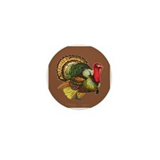 Cute Gobble gobble day Mini Button (10 pack)