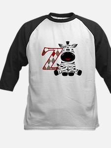 Z is for Zebra Baseball Jersey