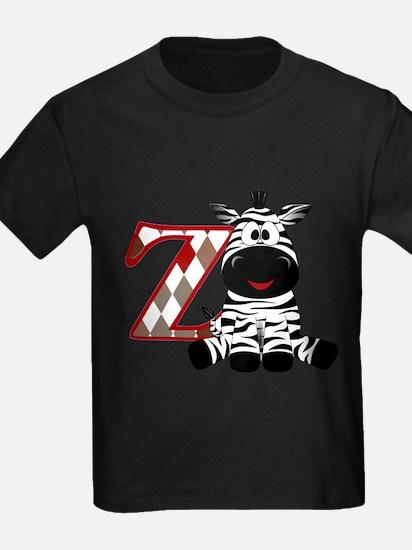 Z is for Zebra T-Shirt