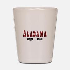 Alabama Crimson Tide Shot Glass