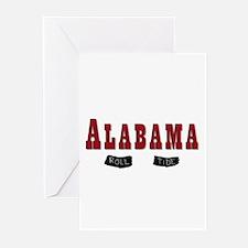 Alabama Crimson Tide Greeting Cards