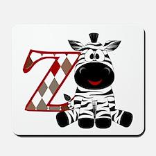 Z is for Zebra Mousepad