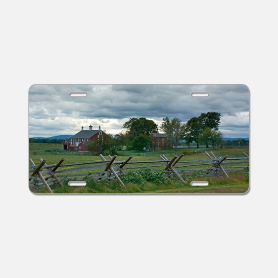 Gettysburg National Park - Aluminum License Plate