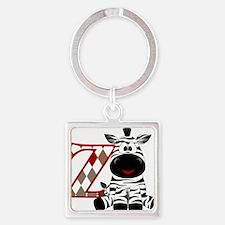 Z is for Zebra Keychains