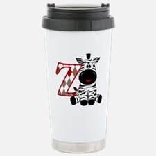 Z is for Zebra Travel Mug