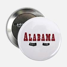 """Alabama Crimson Tide 2.25"""" Button"""