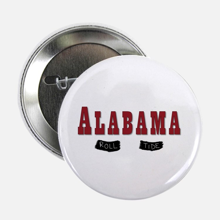 "Alabama Crimson Tide 2.25"" Button"