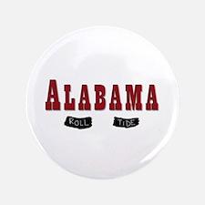 Alabama Crimson Tide Button