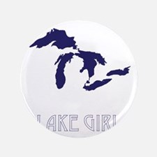 Unique Lake michigan Button