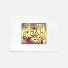 Robot, scyfi art 5'x7'Area Rug