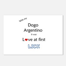 Dogo Lick Postcards (Package of 8)