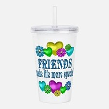 Friends More Special Acrylic Double-wall Tumbler