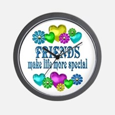 Friends More Special Wall Clock