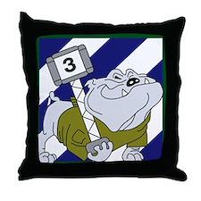 3rd Brigade Sledge Hammer Throw Pillow