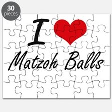 I love Matzoh Balls Puzzle