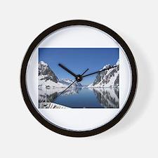 Antarctica By Sea Wall Clock