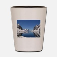 Antarctica By Sea Shot Glass